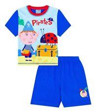 Ben and Holly Boy'S Pequeño Reino Piratas aventura Corto Pijamas