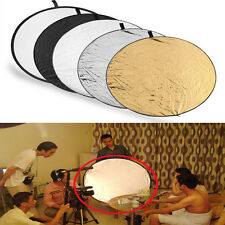 5in1 60cm Photography Light Reflector Panel Photo Studio Collapsiable Multi Disc