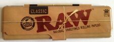 RAW Rolling Paper Case Tin Metal King Size Classic