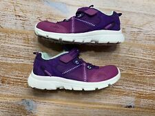 Stride Rite M2P Harley Toddler/Kids Size 12M Girls Purple Teal Washable Sneakers
