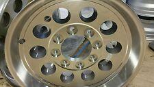17.5 x 6.75 ALUMINUM  MOD TRAILER  RV WHEEL 8X6.5  LUG  130 PSI 6050 LB   LOW $
