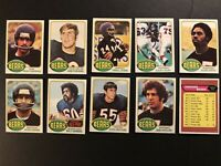 1976 Topps CHICAGO BEARS Near Complete TEAM Set NO WALTER PAYTON