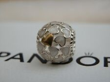 BN GENUINE AUTHENTIC PANDORA 14K & SS ABUNDANCE OF LOVE ENAM CHARM - 791283EN23