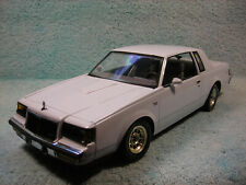 1/18 DIECAST 1986 BUICK REGAL T-TYPE IN WHITE  BY GMP.
