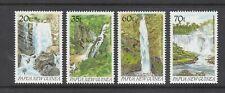 PAPUA NEW GUINEA: 1990 Waterfalls set of 4 SG 611/14 MUH.