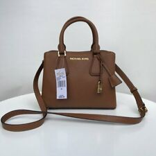 Michael Kors Camille Leather Satchel Bag Small Luggage