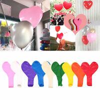 "36"" Large Latex Heart Balloon Jumbo Giant Birthday Party Decor Wedding Supply"