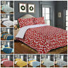 Luxury 100% Egyptian Cotton Duvet Quilt Cover + Pillowcase Bedding Set All Sizes