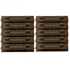 10×32 sheets 108mm King Size Slim Moon Gold Flax Cigarette Tobacco Rolling Paper