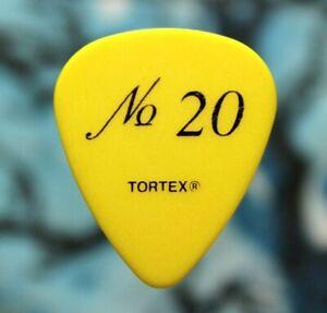 MATCHBOX 20 // Paul Doucette Tour Guitar Pick // Yellow/Black twenty MB20