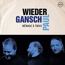 Wieder, Gansch & Paul - Ménage À Trois (NEW CD)
