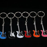Classic Guitar Keychain Key Chain Key Ring Musical pendant For Man Women  Gift