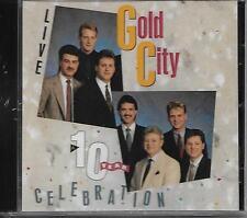 """GOLD CITY....""""LIVE""""....""""10 YEAR CELEBRATION""""......NEW OOP LIVE GOSPEL CONCERT CD"""