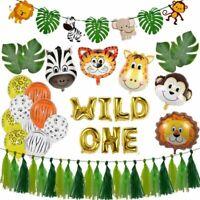 Children Birthday Party Animal Balloons Jungle Safari Theme Decorations Supplies