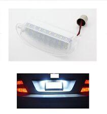FEUX ECLAIRAGE LED BLANC  PLAQUE IMMATRICULATION RENAULT CLIO 2 09/1998-05/2005