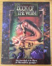 Hombre Lobo El Apocalipsis Libro del Wyrm Manual Softback White Wolf
