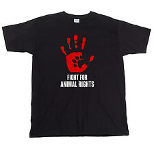 Fight For Animal Rights, Mens T-Shirt, Vegan Activist Veganism