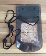Wasserdichte Schutzhülle Brustbeutel Handyhülle Hülle Handytasche schwarz