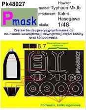 Hawker Typhoon Mk IB. PITTURA Maschera per HASEGAWA ITALERI KIT #48027 1/48 pmask