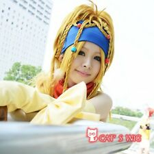 Final Fantasy 10 RIKKU COSPLAY Perücke