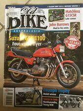Old bike australasia magazine issue 60. Matchless G15csr. Suzuki gsx1100