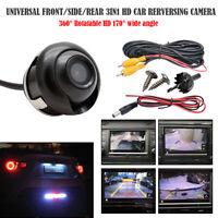 Universale a 360 °Auto HD CCD Telecamera Posteriore Retrocamera Retromarcia IT