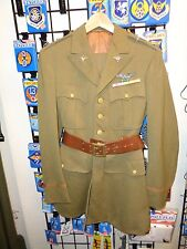 Early WW2 US Army Air Corp Officers Uniform ORIGINAL