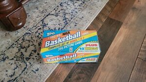 1992-93 Topps Basketball Factory Sealed Complete Set Shaq Shaquille O'Neal RC