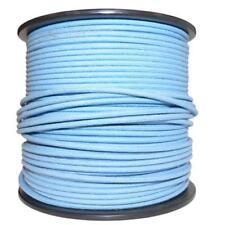 1M coton tressé électrique automobile câble fil 18 Gauge Bleu