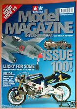 TAMIYA Model Magazine #100 Landmark Issue 2003  Me262, Humvee, Suzuki RGV500  NM