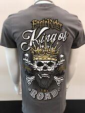 Eaglerider Tee Shirt Motorcycle Biker Skull King Of The Road S - 2XL