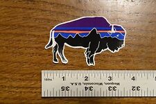Patagonia Bison Fitzroy Mountain Stickers Decals