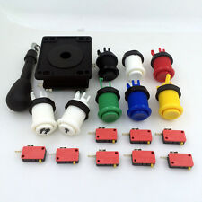 HAPP style Joystick & 8 HAPP style buttons Arcade MAME KIT - 6 colors available