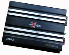 Excalibur Auto Endstufe X280.2 2 Kanal 560 Watt max. Mosfet Verstärker