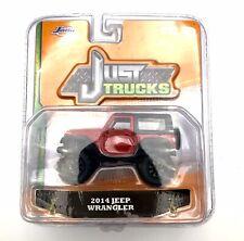 2014 '14 Jeep Wrangler 4X4 Red Just Trucks Diecast 2016 Jada Wave 11