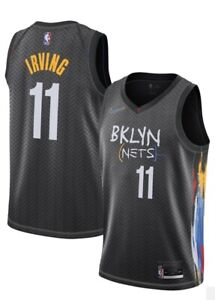 Mens Irving Jersey 11 Adult Brooklyn Basketball Kyrie City
