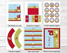 Farm Animals Printable Baby Shower Party Package