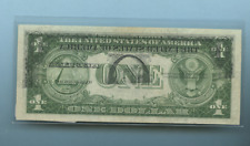 1935 E  OFF SET 2 ERROR PRINT ONE DOLLAR BILL NEAR MINT Z45463484G MISPRINT AU