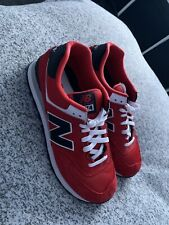 New Balance 574 - Size 10 (Red)