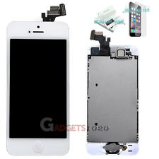 For White iPhone 5 Full Touch Screen LCD Display Digitiser Assembly Replacement