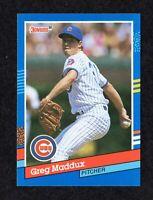 "1991 Donruss #374 Greg Maddux Chicago Cubs HOF Baseball Card NM/MT+  ""mrp"""