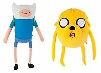 Adventure Time Finn and Jake Soft Plush Toys Jake and Finn 12""