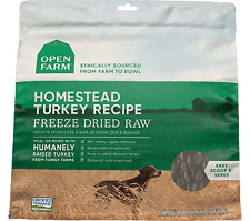 Open Farm Freeze-Dried Homestead Turkey Dog Food 13.5oz