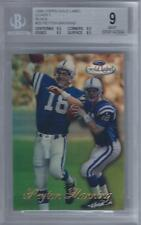 1998 Peyton Manning Topps Gold Label Class 1 Black RC... BGS 9 Mint w/9.5 subs