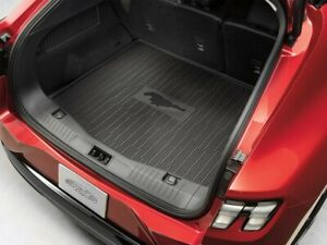 2021 Mustang Mach-E OEM Ford Black Cargo Area Liner Tray Style Protector Mat