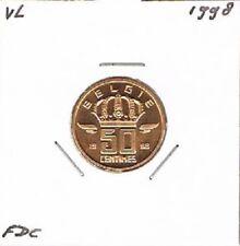 Belgium / België dutch 50 centimes 1998 BU - KM149.1