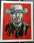 Django Unchained Silkscreen Poster Tarantino Tim Doyle SpokeArt Quentin VS Coen