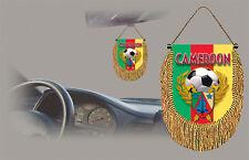 CAMEROON SOCCER FLAG CAR MINI BANNER, PENNANT