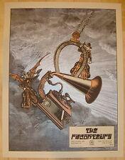 2008 The Raconteurs - Cincinnati Silkscreen Concert Poster S/N by Rob Jones