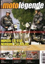 MOTO LEGENDE 195 LAVERDA 650 GT 750 SF SFC HONDA CB 450 K0 NORTON Atlas BSA 250
